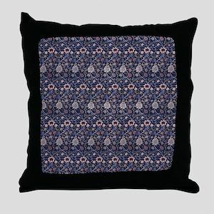 William Morris Evenlode Pattern Throw Pillow