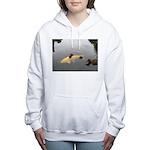 Hitching A Ride Women's Hooded Sweatshirt