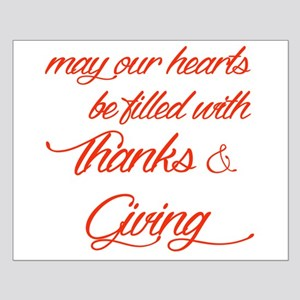 Thanks&Giving Posters