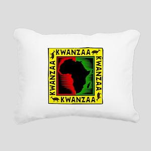 Celebrate Kwanzaa african print Rectangular Ca