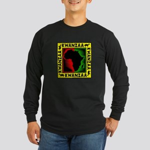 Celebrate Kwanzaa african print Long Sleeve T-