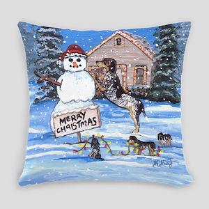 Bluetick Coonhound DFC Everyday Pillow