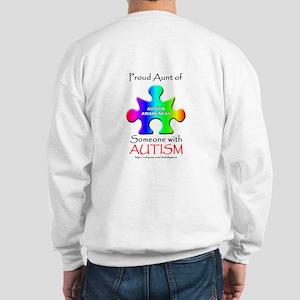 Proud Aunt (backprint) Sweatshirt