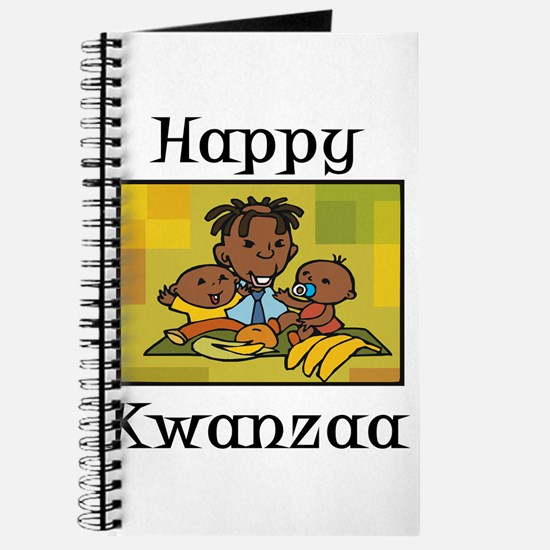 Happy Kwanzaa Family with babies.png Journal