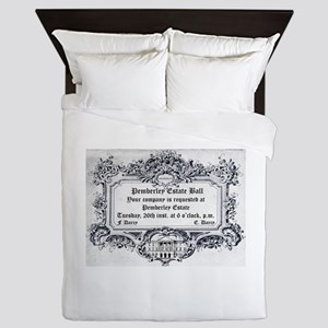 Pemberley Estate Ball Queen Duvet