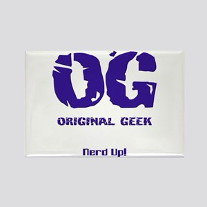 Original Geek Rectangle Magnet