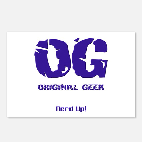 Original Geek Postcards (Package of 8)