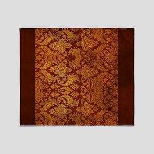 Oriental Design Throw Blanket
