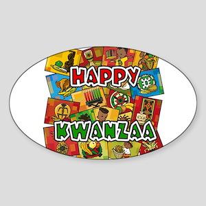 Happy Kwanzaa Collage Sticker