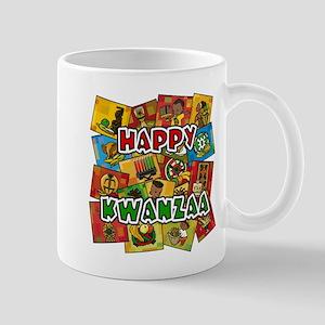 Happy Kwanzaa Collage Mugs