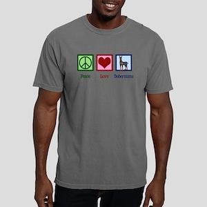 Cute Doberman Mens Comfort Colors Shirt
