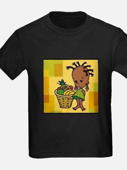 Baby Kwanzaa kid and fruit basket.png T-Shirt