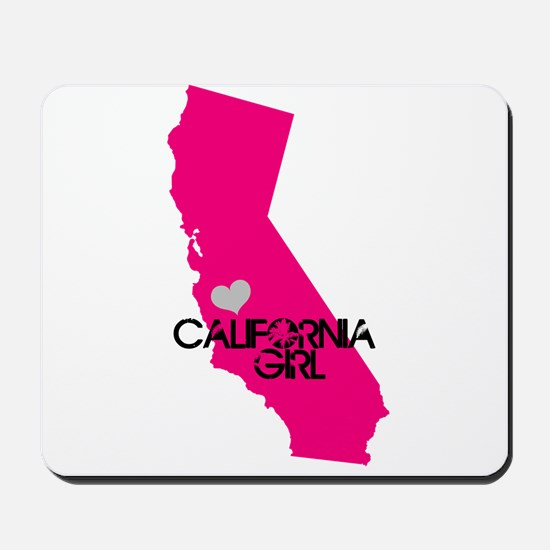CALIFORNIA GIRL w HEART [4] Mousepad