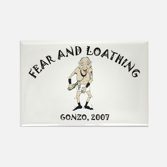 Fear and Loathing Rectangle Magnet