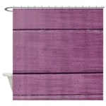 Distressed Dusky Pink Shower Curtain