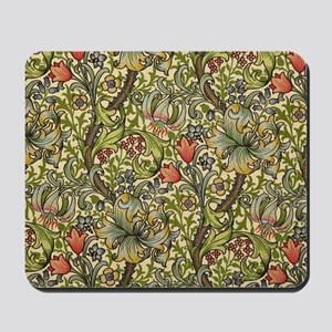 William Morris Golden Lily pattern Mousepad