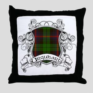 Urquhart Tartan Shield Throw Pillow