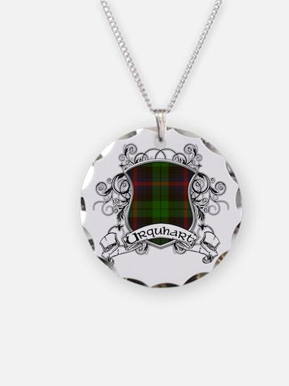 Urquhart Tartan Shield Necklace