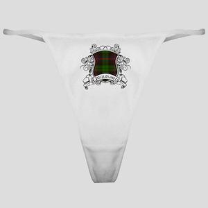 Urquhart Tartan Shield Classic Thong