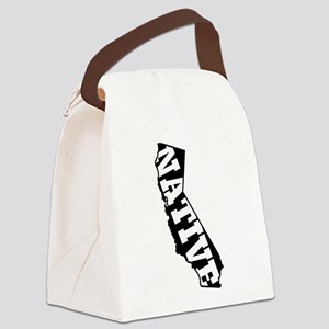 CALIFORNIA NATIVE Canvas Lunch Bag
