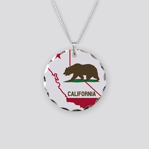 CALI STATE w BEAR Necklace