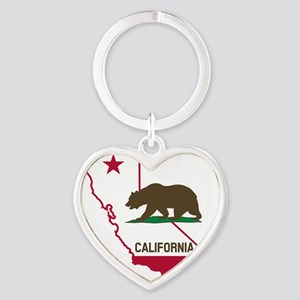 CALI STATE w BEAR Keychains
