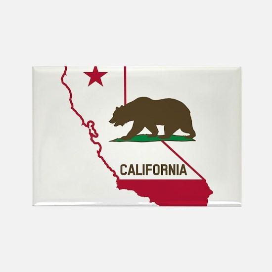 CALI STATE w BEAR Magnets