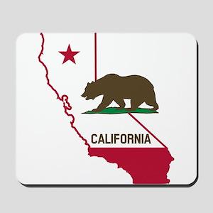 CALI STATE w BEAR Mousepad