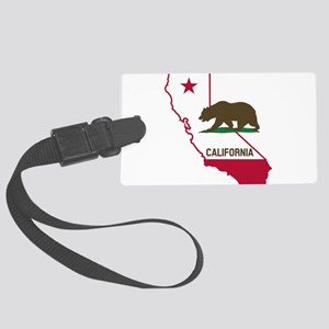 CALI STATE w BEAR Luggage Tag