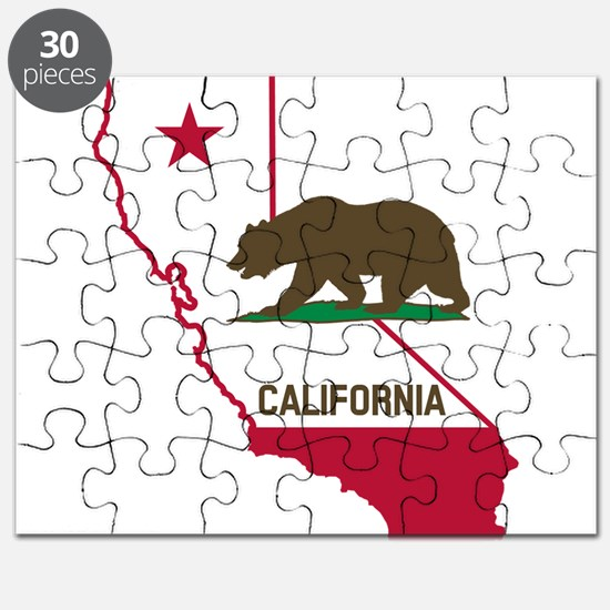 CALI STATE w BEAR Puzzle