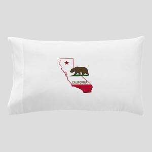 CALI STATE w BEAR Pillow Case