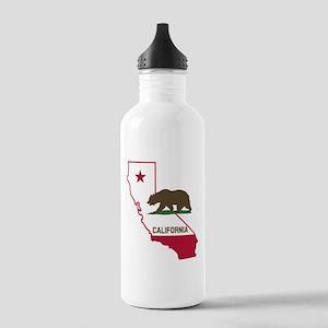 CALI STATE w BEAR Water Bottle