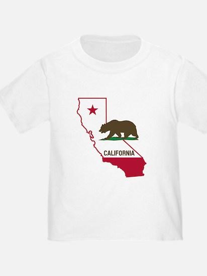 CALI STATE w BEAR T-Shirt
