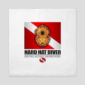 Hard Hat Diver Queen Duvet