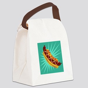 Lets Ketchup Canvas Lunch Bag