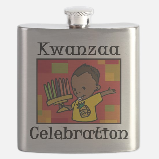Kwanzaa Celebration boy.png Flask