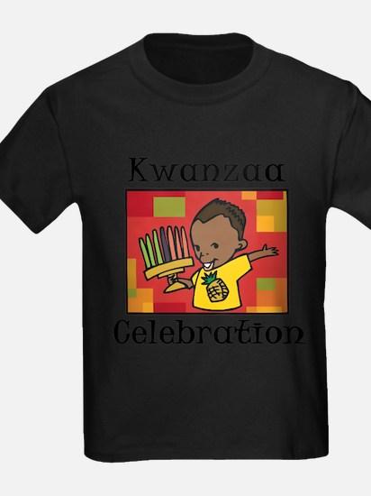 Kwanzaa Celebration boy.png T-Shirt
