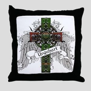 Urquhart Tartan Cross Throw Pillow