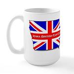 Iowa British Large Mug