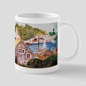 Seaside German Cottage Mugs