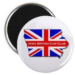 Iowa British Magnet