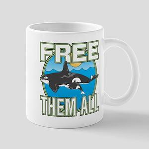 Free Them All(Whales) Mug