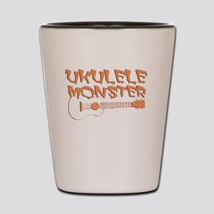 Funny ukulele Shot Glass