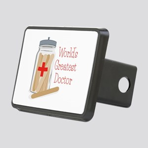 Worlds Greatest Doctor Hitch Cover