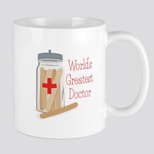 Worlds Greatest Doctor Mugs