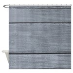 Distressed Silver Grey Shower Curtain