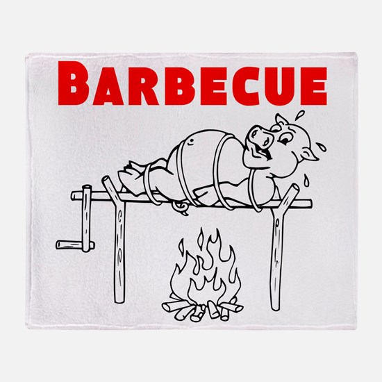 Barbecue Throw Blanket