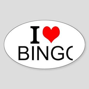 I Love Bingo Sticker