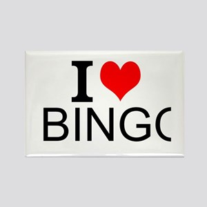 I Love Bingo Magnets