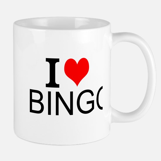I Love Bingo Mugs